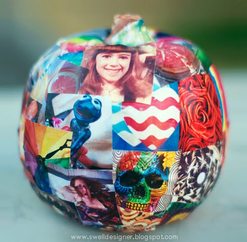 decoupage-photo-pumpkin