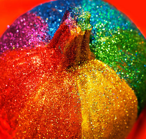 rainbow glitter pumpkin diy copy